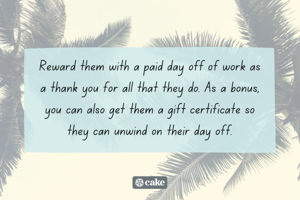 Tip on how to say 'thank you for being you' to a coworker